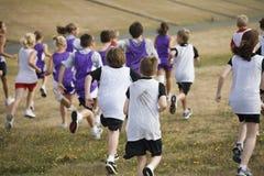 команды 2 бегунков страны перекрестные Стоковое Фото