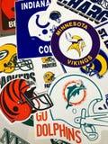 Команды NFL стоковые изображения