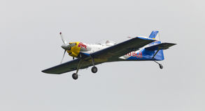 Команда аэробатик быков летания на Airshow Стоковое Изображение RF