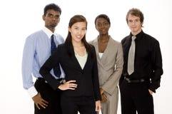 команда бизнес-группы Стоковое фото RF
