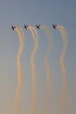 Команда демонстрации высшего пилотажа лезвий Стоковое Изображение