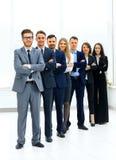 Команда дела в современном офисе Стоковое Фото