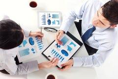 команда деловой встречи Стоковое Изображение RF