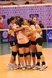 Команда игроков женщин Стоковое Изображение RF