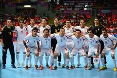 Команда Ирана национальная futsal Стоковые Изображения RF