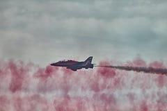 Команда дисплея стрелок RAF красная Стоковые Фотографии RF