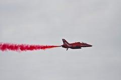 Команда дисплея стрелок RAF красная Стоковые Фото