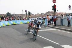 команда Италии giro collstrop d Стоковое Изображение