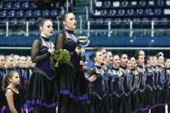 Команда Канада одно на награде церемонии Стоковые Фото