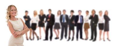 команда крупного бизнесса Стоковые Изображения