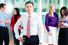 команда людей офиса дела Стоковая Фотография