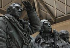 Команда мемориальная, зеленый парк бомбардировщика, Лондон Стоковая Фотография RF