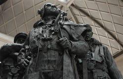 Команда мемориальная, зеленый парк бомбардировщика, Лондон стоковое фото rf