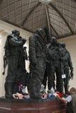 Команда мемориальная, зеленый парк бомбардировщика Стоковое Изображение