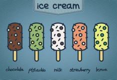 Команда мороженого Стоковое Изображение RF
