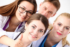Команда молодых докторов Стоковое фото RF