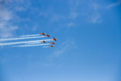 Команда неба стоковые изображения rf