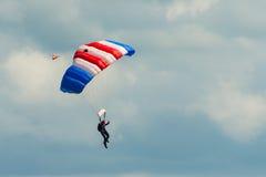 Команда парашюта соколов RAF стоковые фотографии rf