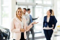 Команда профессиональных salespeople Стоковые Изображения