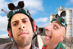 Команда работников стоковое фото