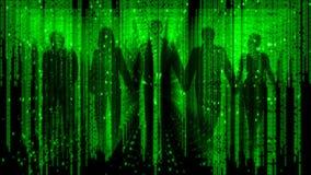 Команда рабочей силы цифров людей бесплатная иллюстрация