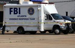 Команда реакции доказательства ФБР Стоковое Фото