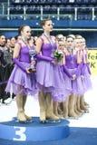 Команда Россия одна награда Стоковое фото RF