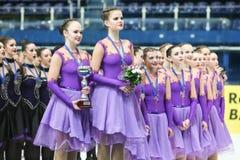 Команда Россия одна церемония Стоковые Фотографии RF