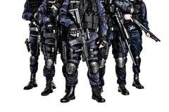 Команда СВАТ стоковое изображение rf
