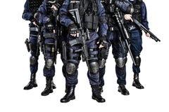 Команда СВАТ стоковая фотография