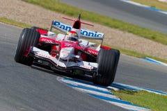 Команда Тойота F1, Рикардо Zonta, 2006 Стоковая Фотография