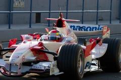 Команда Тойота F1, Рикардо Zonta, 2006 Стоковое Фото