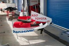 Команда Тойота F1, чехол двигателя Стоковое Изображение