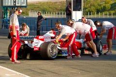 Команда Тойота F1, Olivier Panis, 2006 Стоковое Изображение