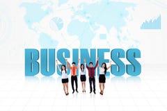 Команда успеха в бизнесе Стоковые Фото