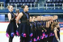 Команда Финляндия одна церемония Стоковые Фото