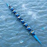 Команда экипажа в конкуренции Стоковое Изображение