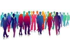 команда людей людей разнообразности цветастой принципиальной схемы разнообразная стоковые фото