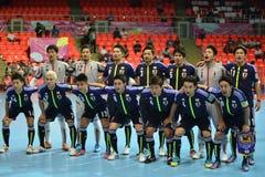 Команда Японии национальная futsal Стоковые Изображения RF