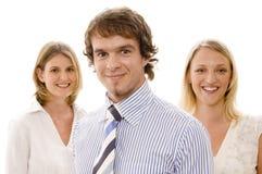 команда 2 бизнес-групп Стоковые Изображения