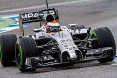 Команда McLaren F1, Кевин Magnussen, 2014 Стоковое Фото