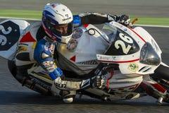 Команда Moto Клуб de Gemenos Гонки 24 часа Стоковое Изображение RF