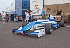 Команда Novomatic racecar в paddock Стоковое Изображение