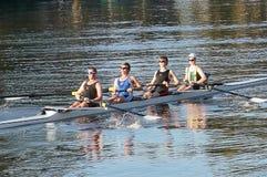 Команда rowing Стоковые Фотографии RF