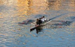 Команда rowing Стоковые Фото