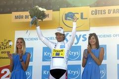 Команда Tinkoff - Saxo Тур-де-Франс 2015 Питера Sagan Стоковые Фото
