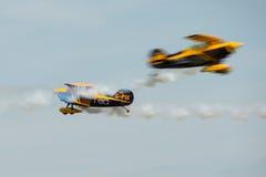 Команда Trig пилотажная стоковое изображение