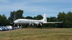 Командирский самолет поддержки военно-воздушных сил Великобритании Стоковое фото RF