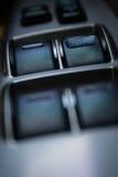 Командный выключатель окна в автомобиле Стоковое Фото