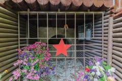 Командный пункт восьмой бригады винтовки предохранителей Novorossiysk Россия 13 05 2017 Стоковое Изображение RF